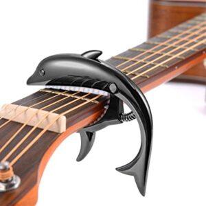 ukelele Cejilla para guitarra el/éctrica Rosenice ac/ústica bajo bronce